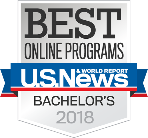 US News Best Online Programs award -2018