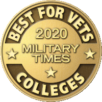 Military Times Best for Vets Colleges badge