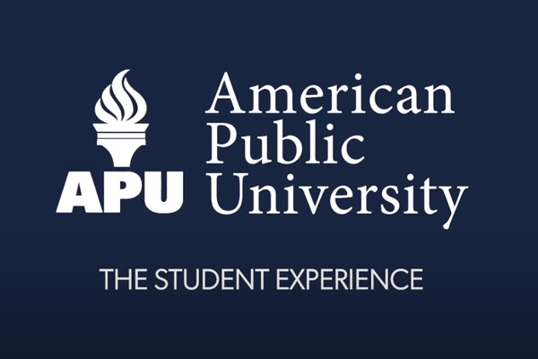Title slide for video - The Student Experience (APU)