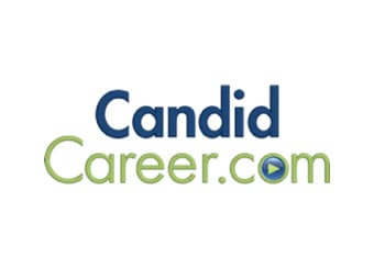 This is an image of the logo of CandidCareer.com